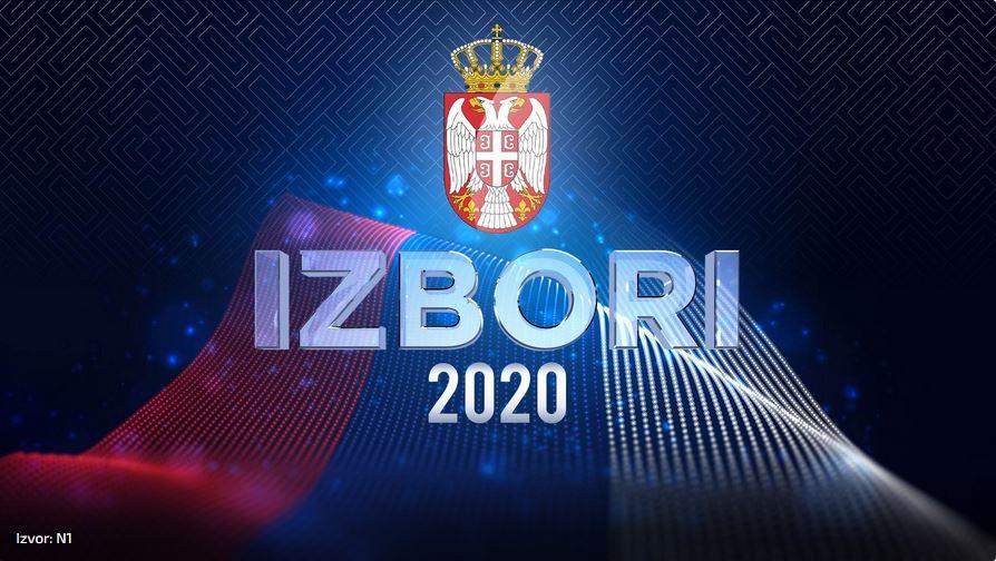 Izbori 2020 Foto N1 printscreen