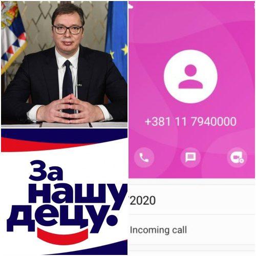 Aleksandar Vučić i njegov Call centar
